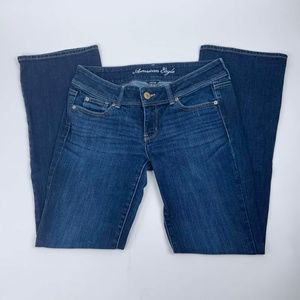 American Eagle Jeans Size 8 Slim Bootcut Stretch